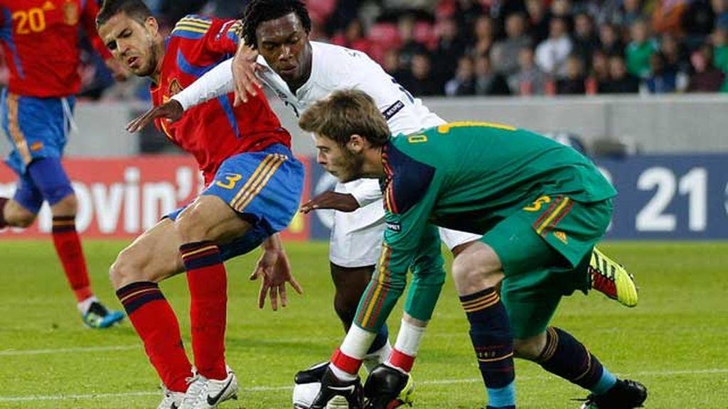 Lo mejor del España-Inglaterra