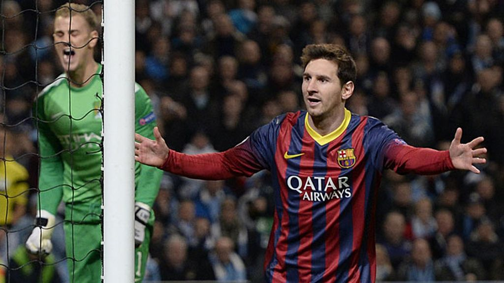 Messi, tras marcar al City