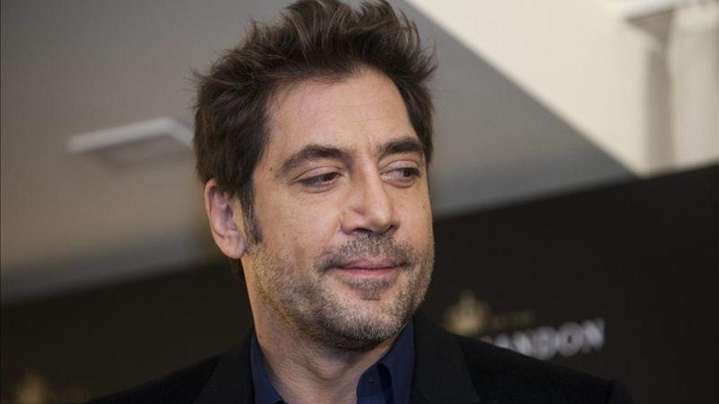 El actor español Javier Bardem. EFE/Archivo
