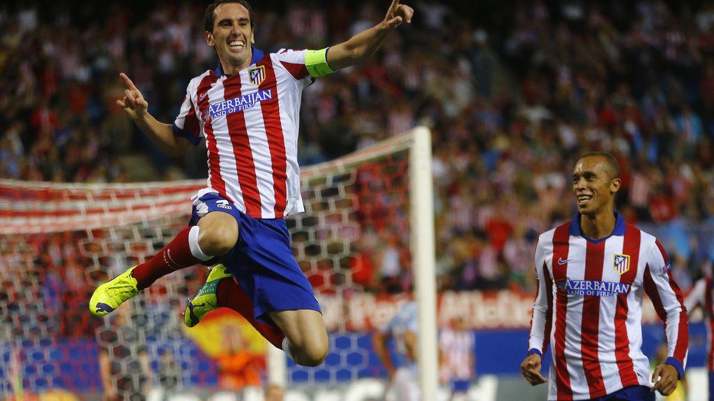 El Atlético de Madrid golea al Malmoe