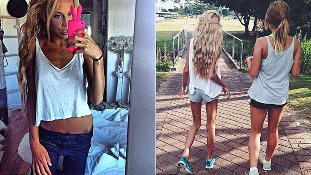 Christie Swadling sale del infierno de la anorexia