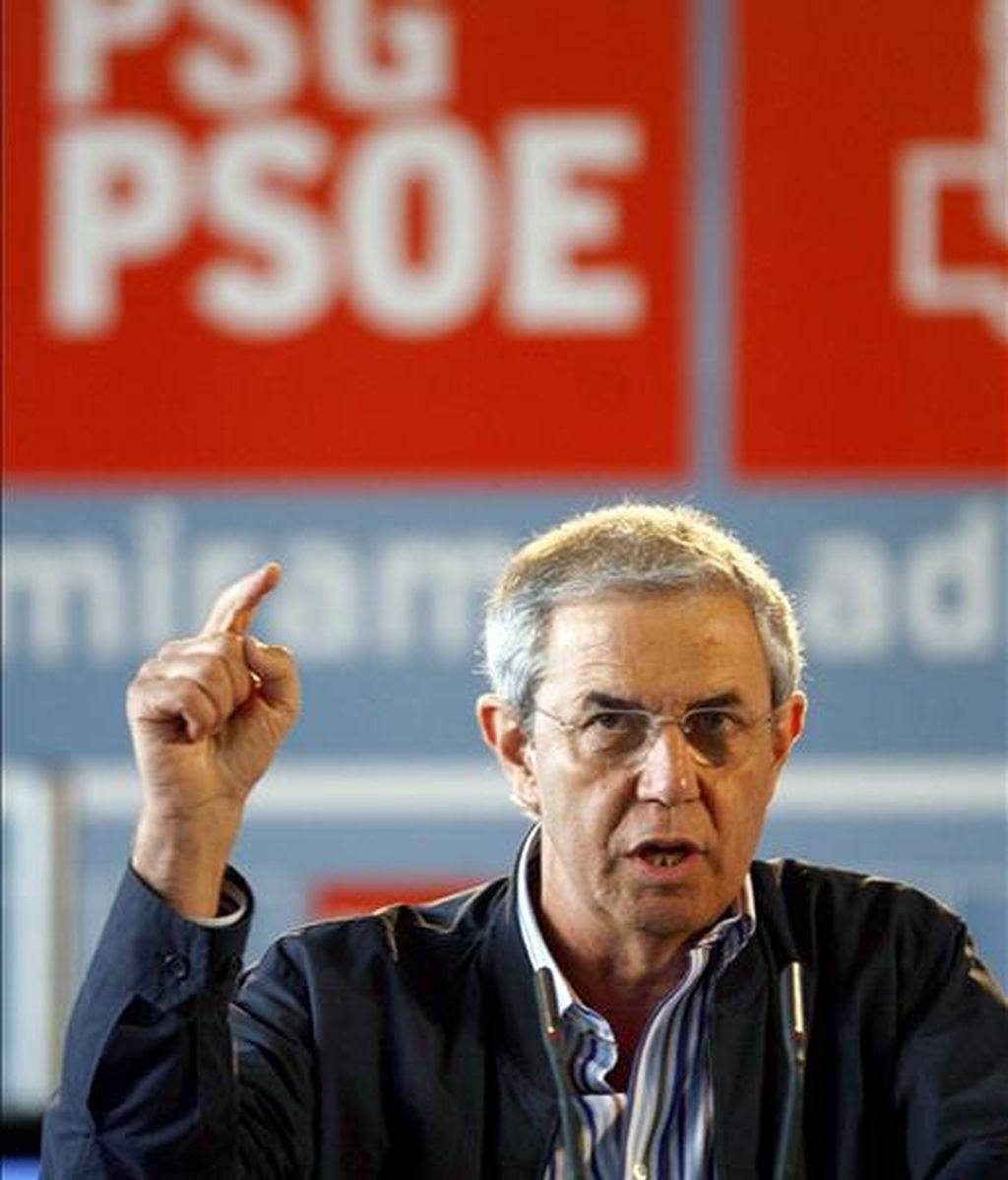 El secretario general de los socialistas gallegos, Emilio Pérez Touriño. EFE/Archivo