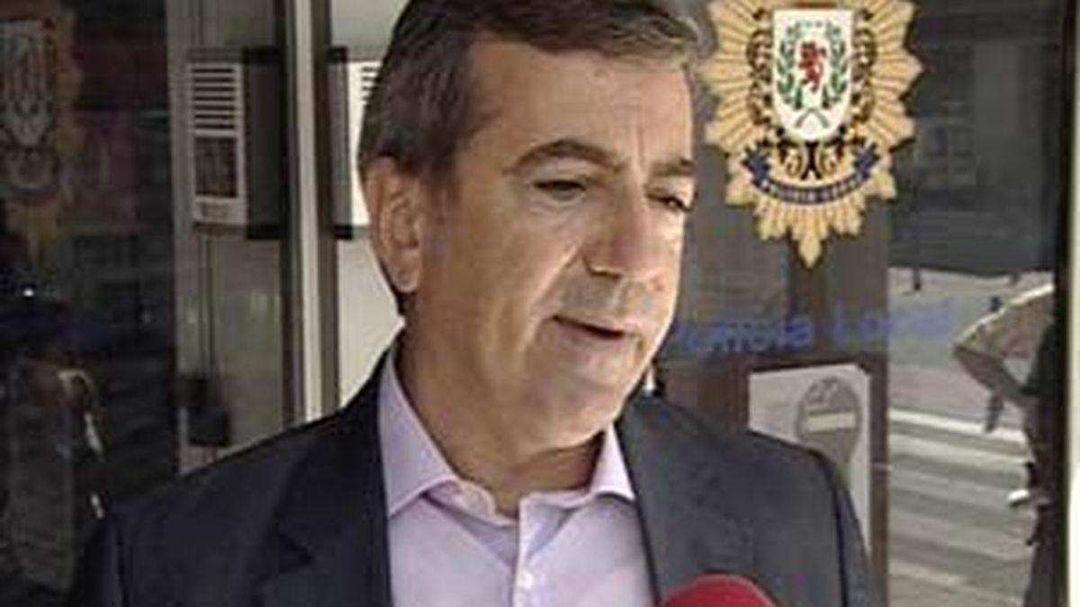 El jefe de la policía de Coslada, Ginés Jiménez, uno de los imputados. Vídeo: Atlas