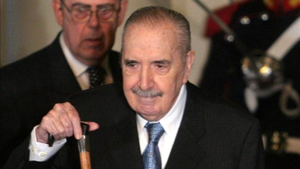 Alfonsín, que gobernó entre 1983 y 1989, con lo que fue el primer mandatario democrático argentino tras la última dictadura militar (1976-1983), cumplió 82 años el 12 de marzo pasado. EFE/Archivo