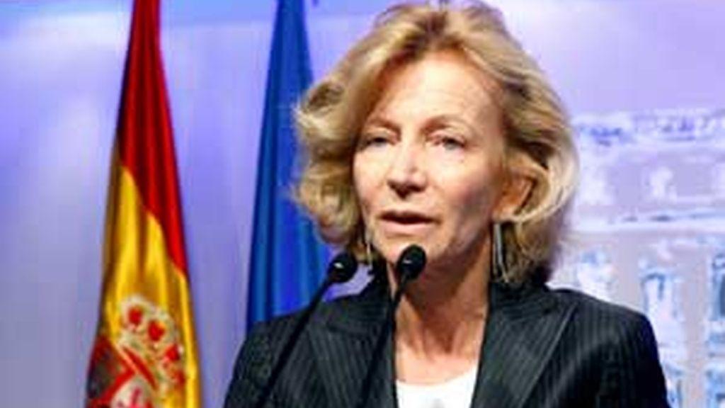Foto de archivo de la ministra Salgado. Foto: EFe