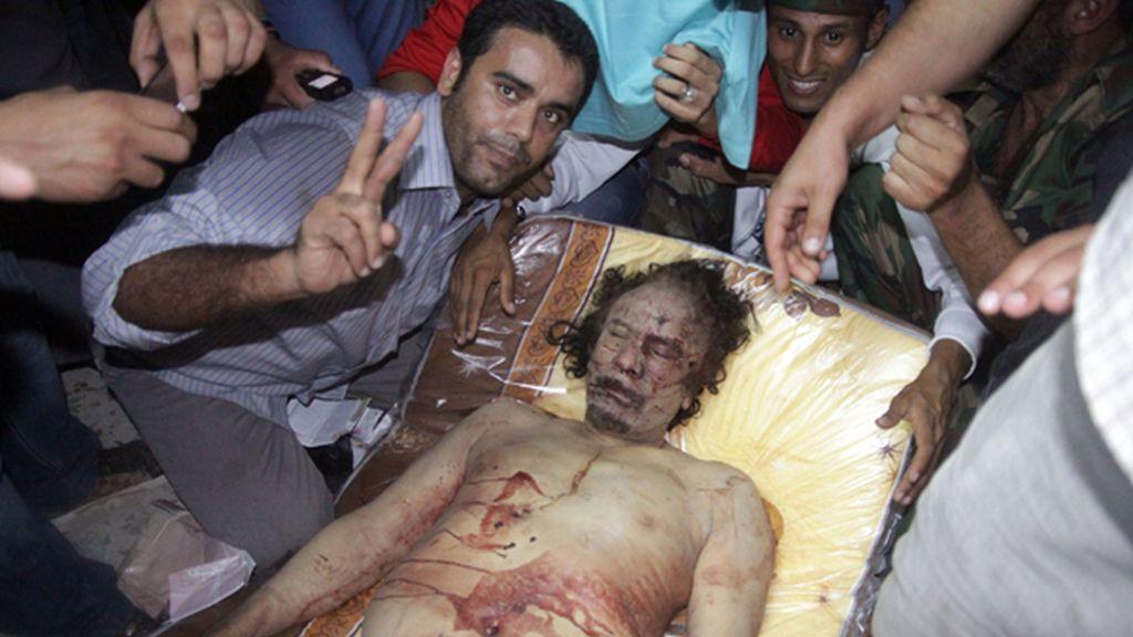 Expuesto para los libios