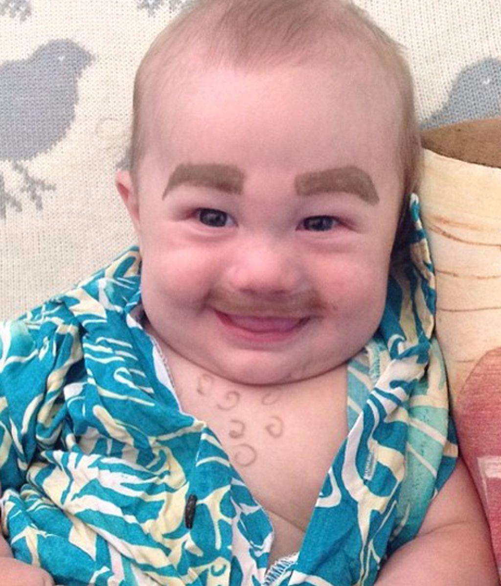 'Baby Cejas', la última ocurrencia en Instagram