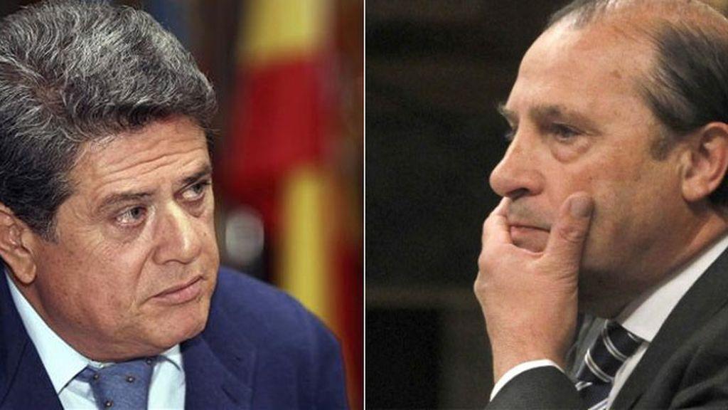 Federico Trillo y Vicente Martínez Pujalte