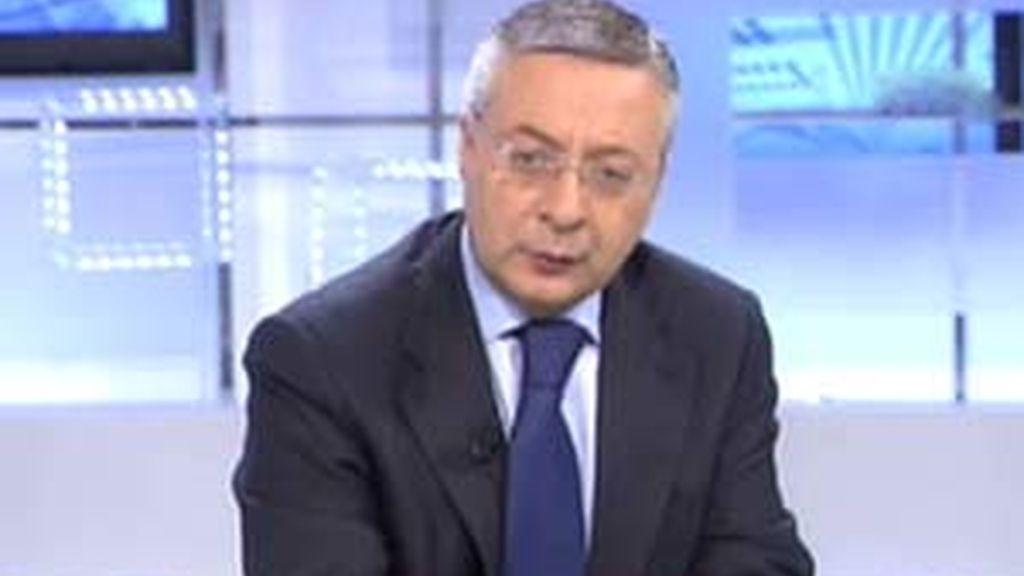 José Blanco, ministro de Fomento, en el Informativo Matinal.