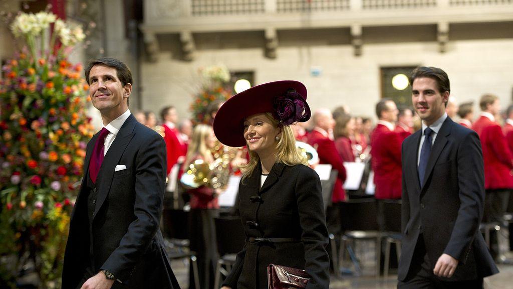 Los príncipes de Grecia: Pablo y Marie-Chantal en el ayuntamiento de Copenhague