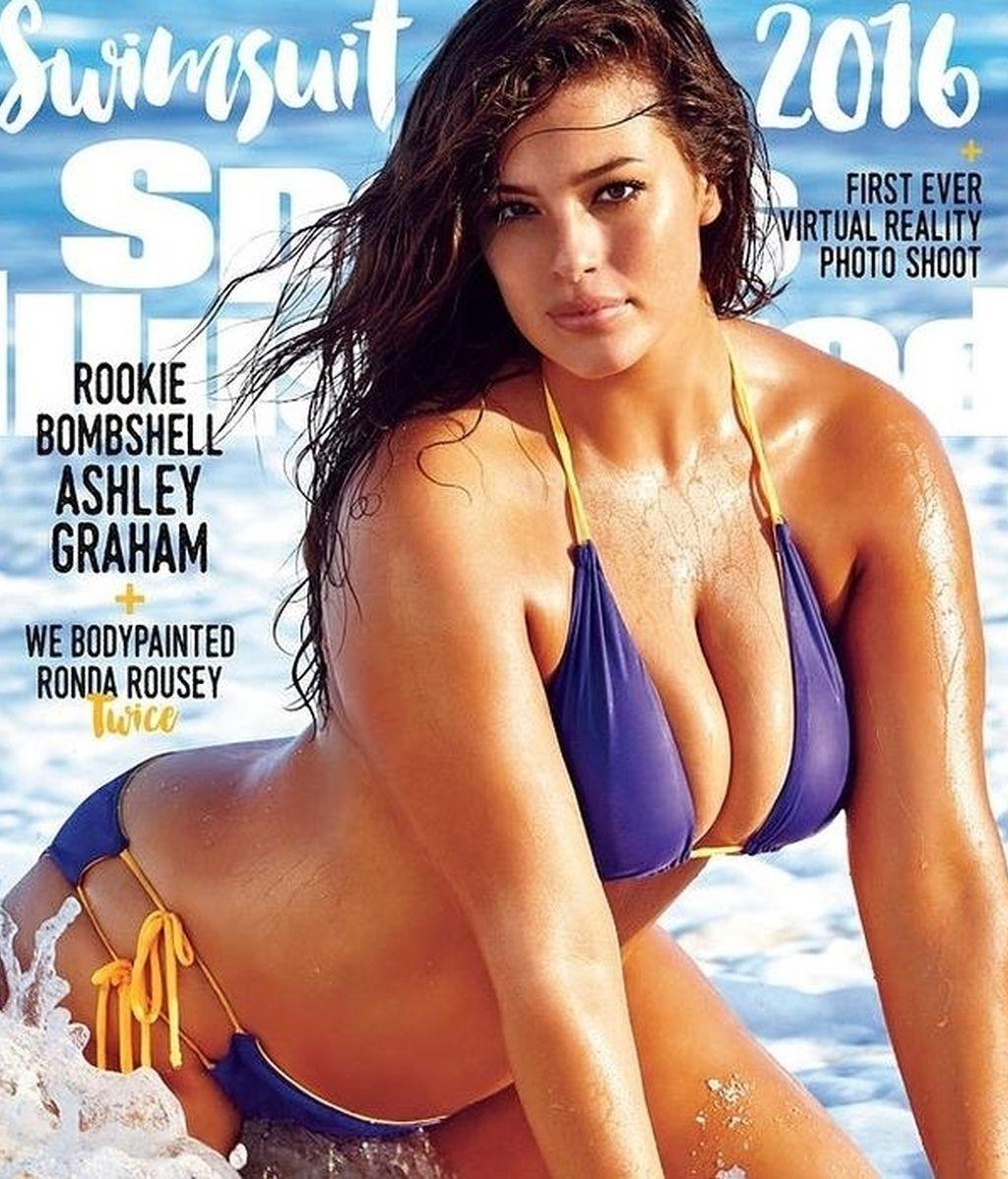 Ashley Graham protagoniza la portada de Sports Illustrated