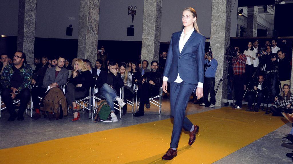 Por primera vez García Madrid se atrevió con diseños femeninos