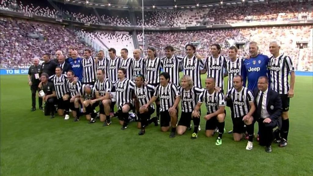 Las mejores imágenes del partido benéfico Juventus-Real Madrid de leyendas