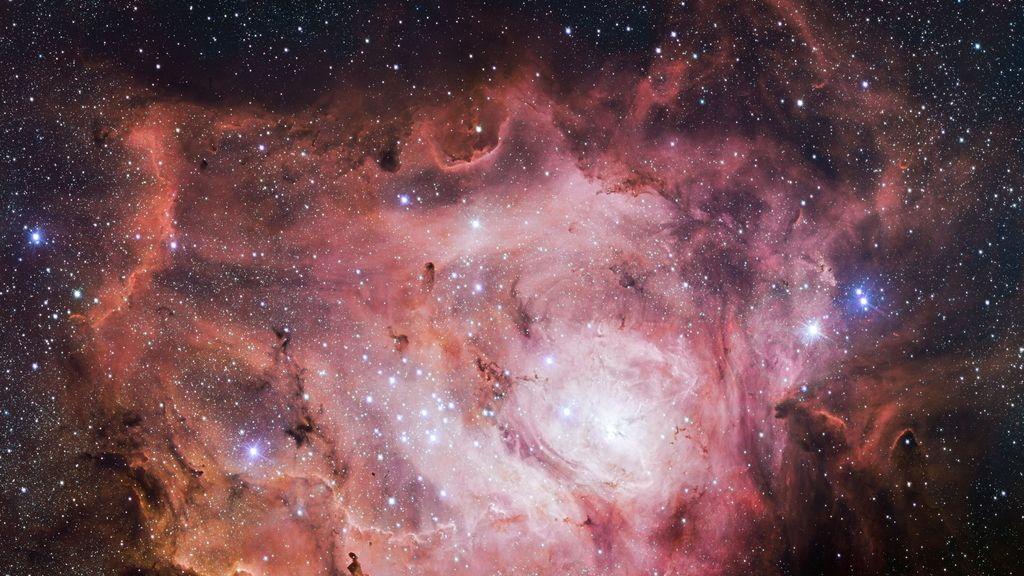 Un sondeo estelar capta la formación de estrellas en la nebulosa de la Laguna