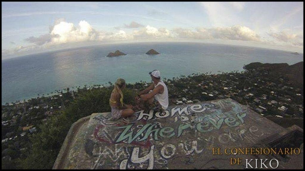 Así es el circulo más íntimo de la hawaiana