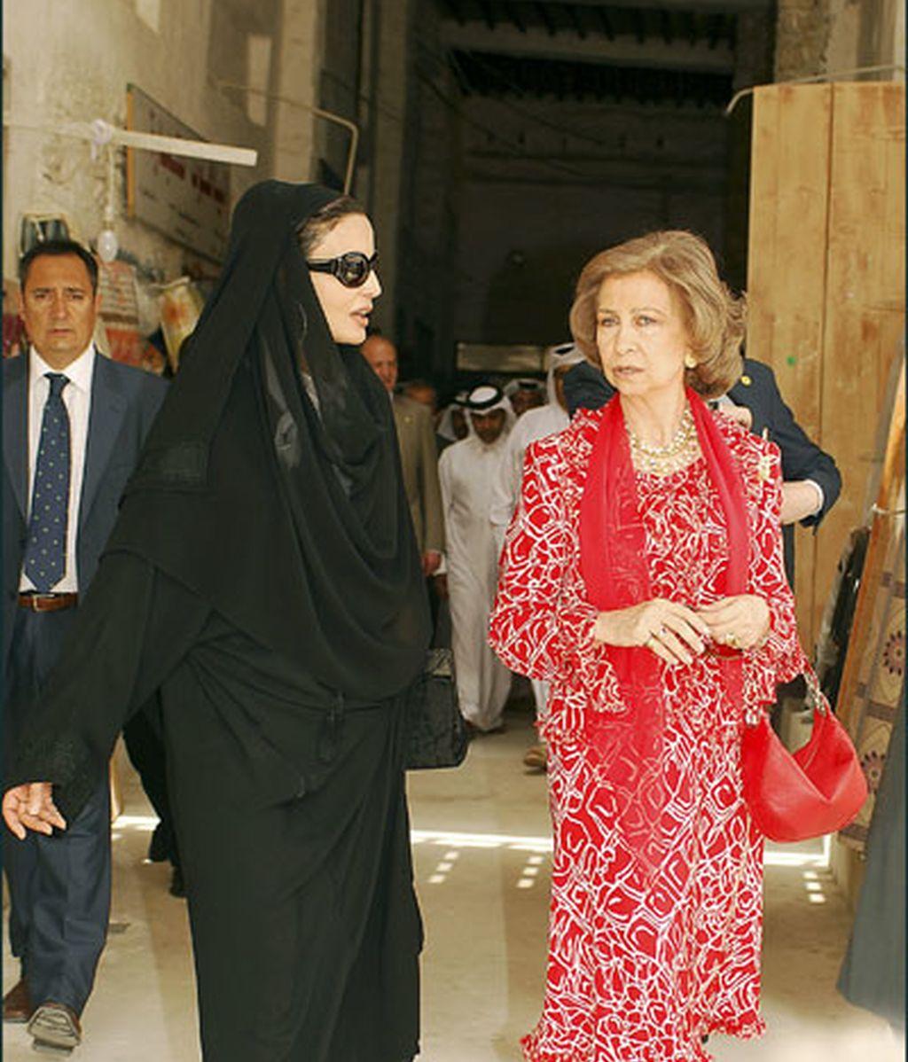 Visita de la reina a Catar