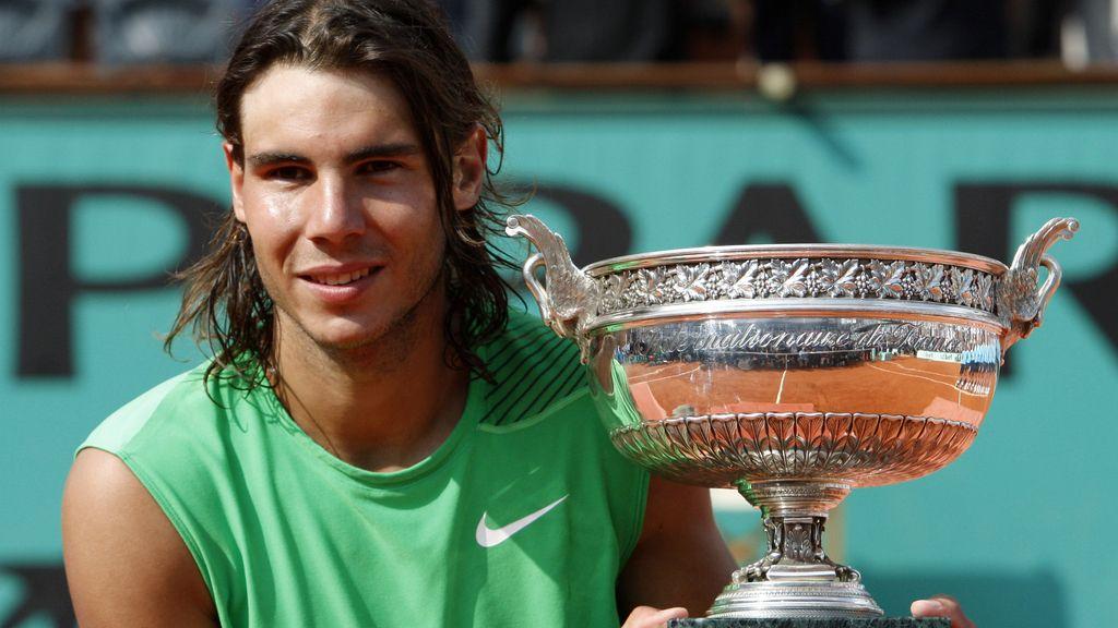 Rafa Nadal, campeón de Roland-Garros en 2008