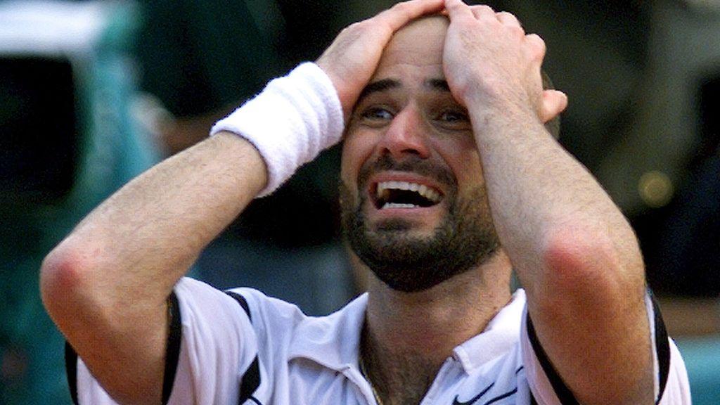 Andre Agassi, campeón de Roland-Garros en 1999