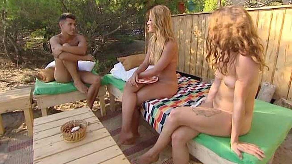 Sonia, Alejandro, Estela y Luis, sin pudor