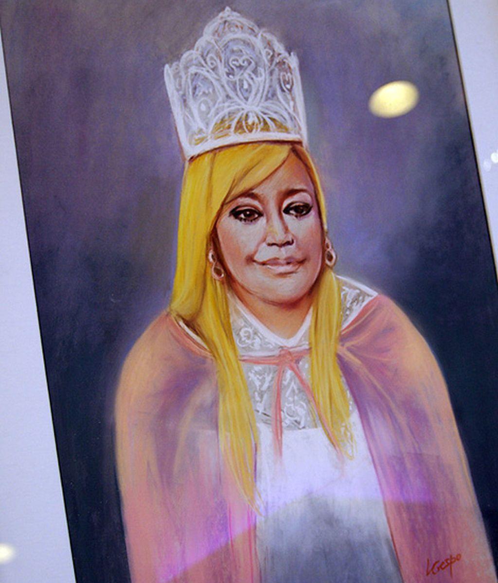 El retrato de la reina de 'Sálvame'