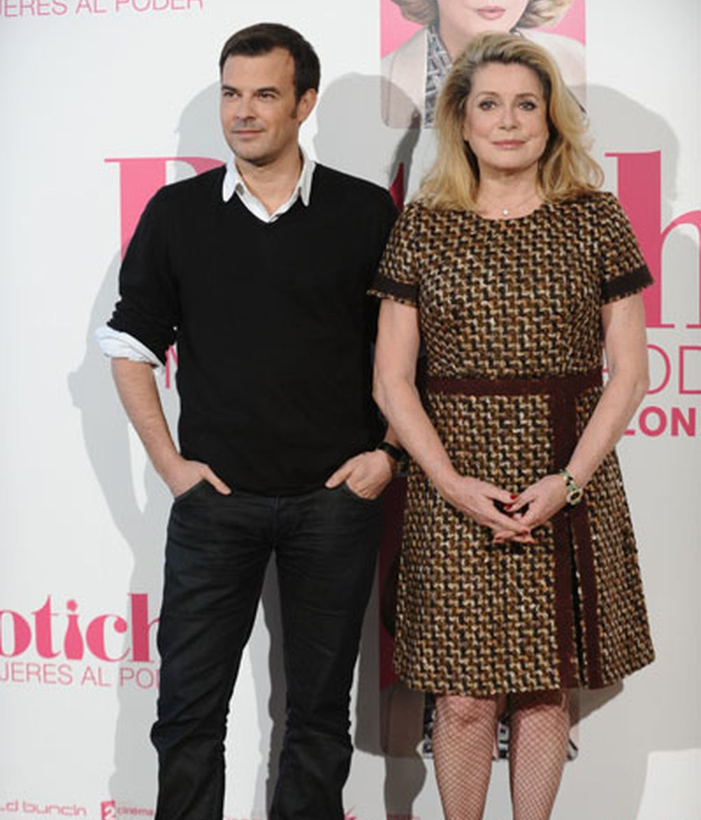 François Ozon y Catherine Deneuve