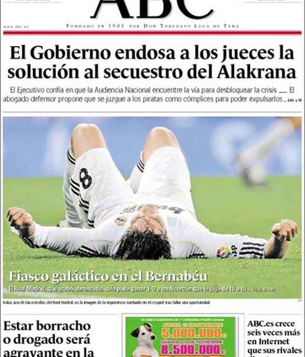 'Fiasco galáctico en el Bernabéu'