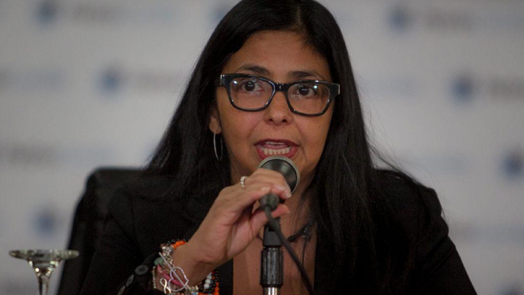 Delcy Rodriguez, ministra de Relaciones Exteriores de Venezuela