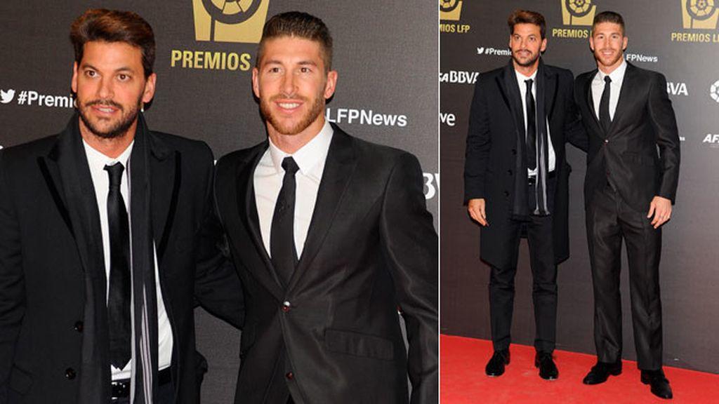 Sergio Ramos posó junto a su hermano, Rene Ramos