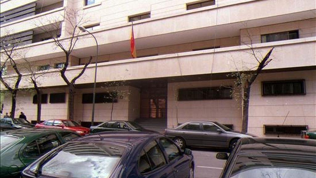 Fachada de la Audiencia Nacional de Madrid. EFE/Archivo