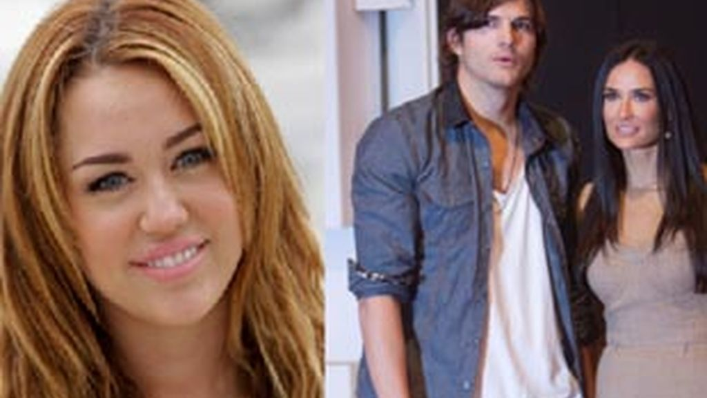 Miley ayuda a la pareja por Twitter. Foto: GTRES