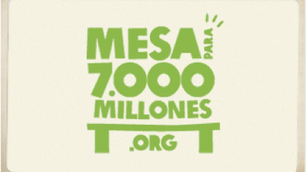 Mesa para 7.000 millones