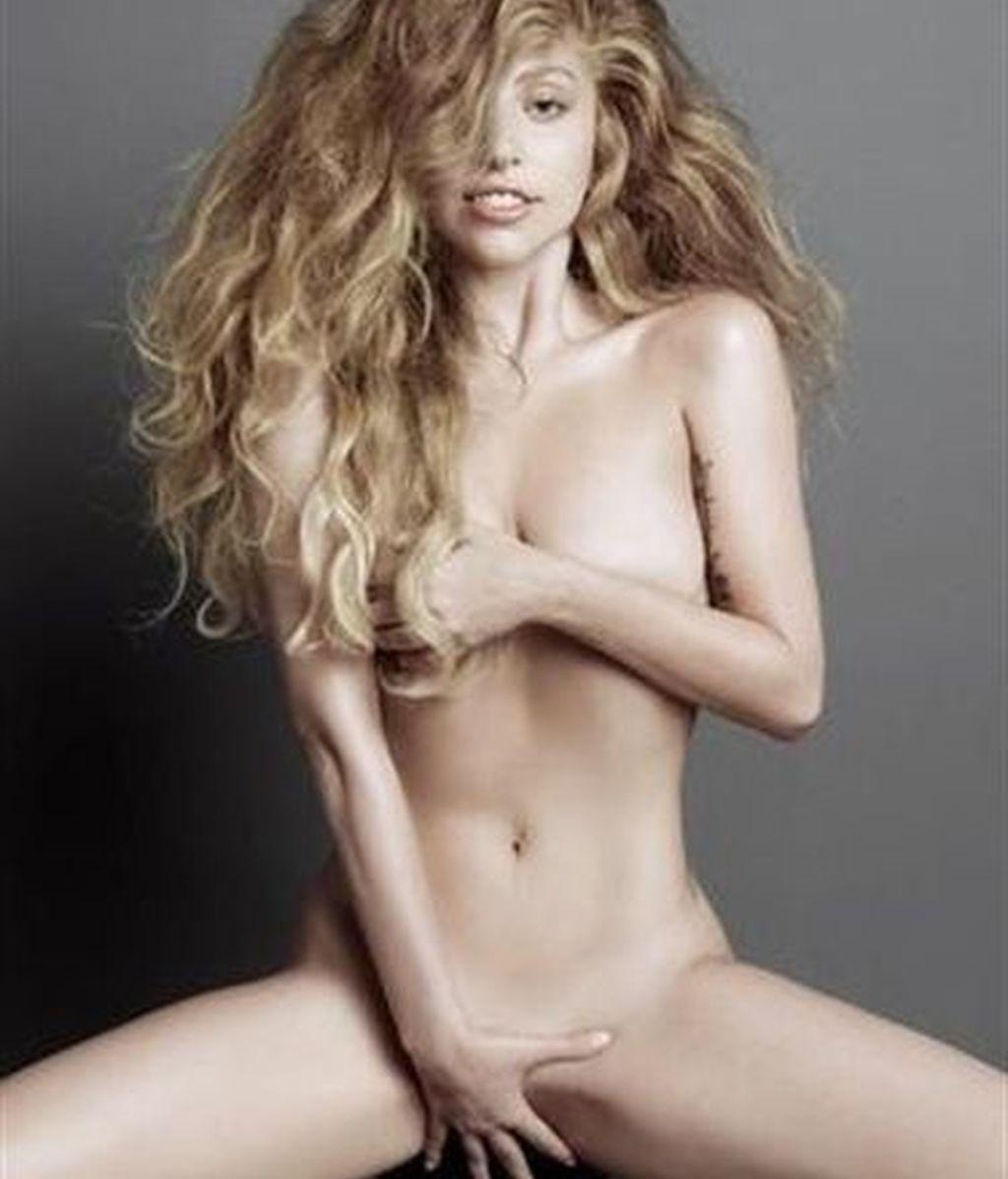 Lady Gaga, desnuda para 'V Magazine'