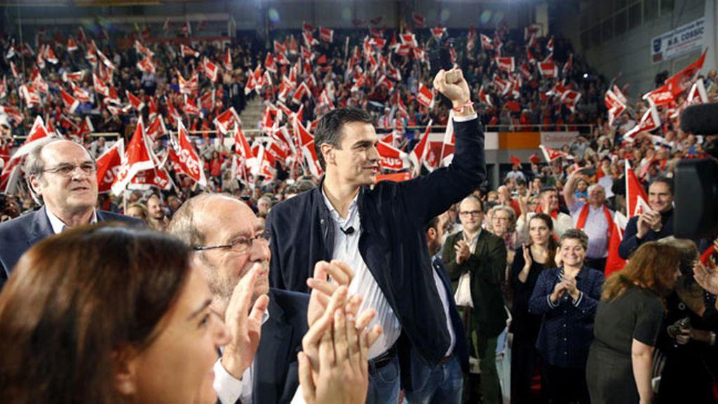 Pedro Sánchez cierra campaña en Fuenlabrada