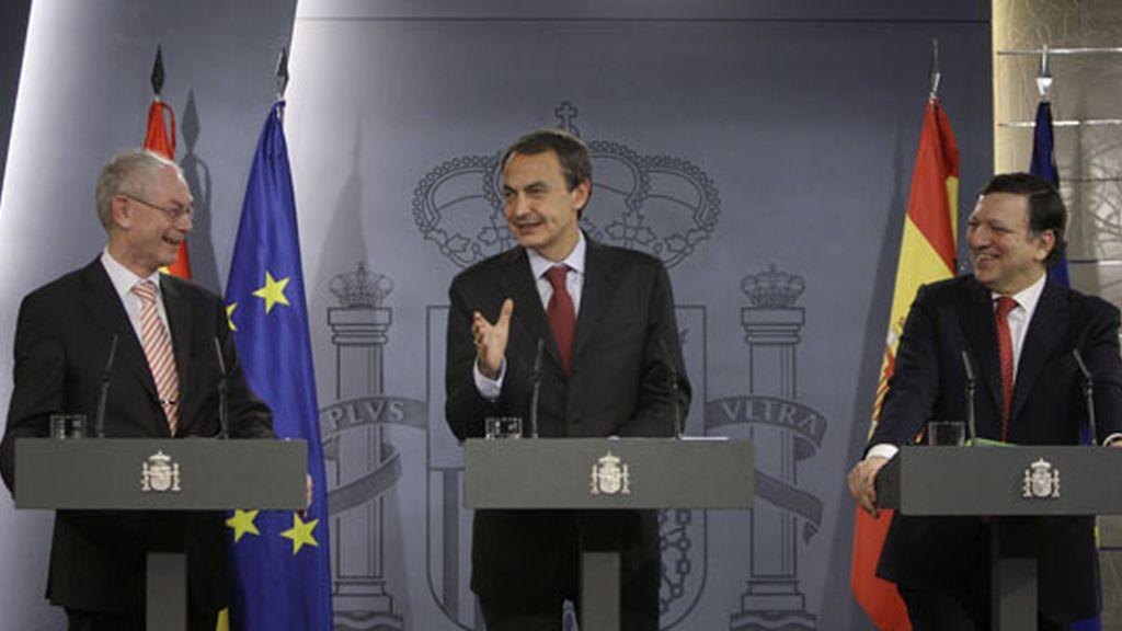 2010: Zapatero durante la Presidencia de turno de la UE
