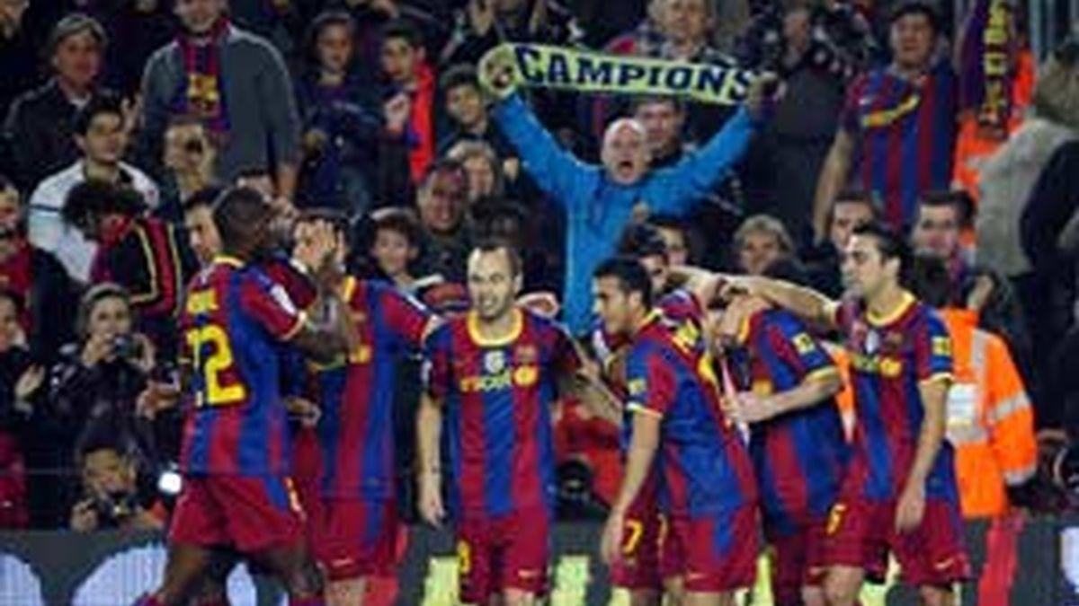 El Barça, afectado por el caos aéreo, no jugará ésta tarde. FOTO:GTRES