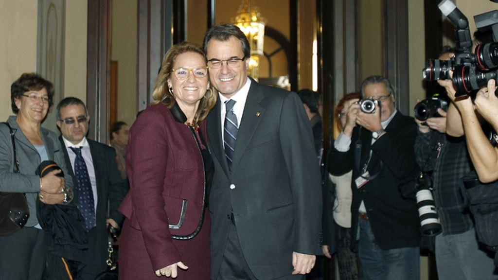 Artur Mas,reelegido presidente de la Generalitat de Cataluña