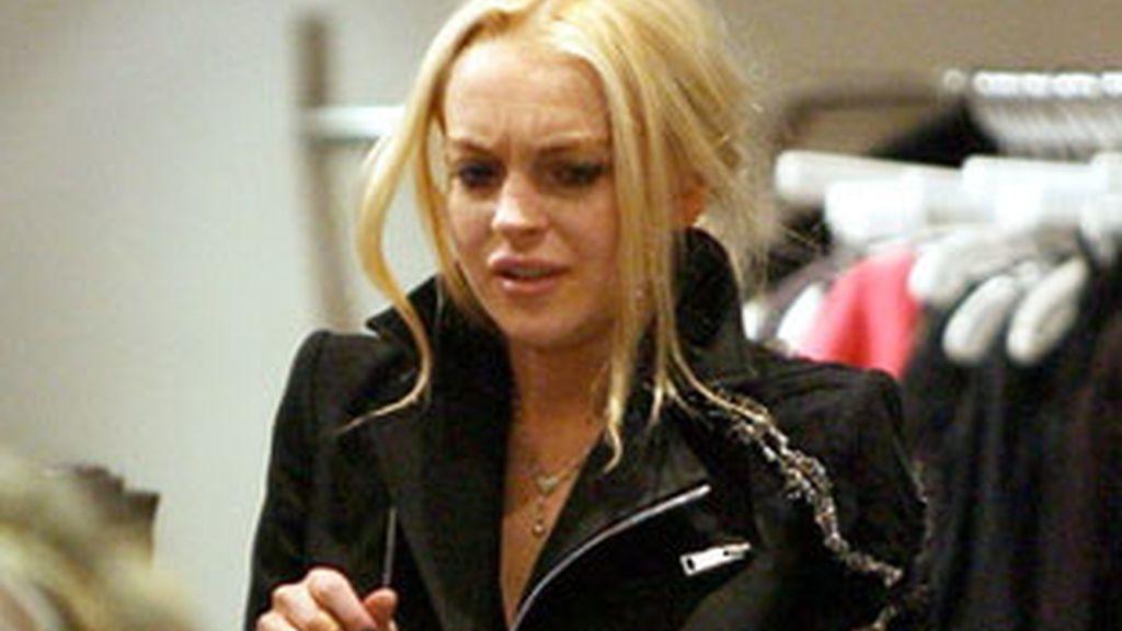 Lindsay Lohan, en un foto reciente realizada en Nueva York.