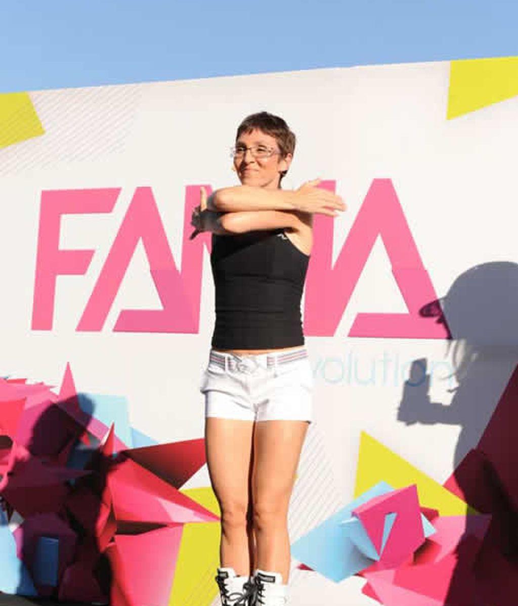 Flashmob de Fama en Madrid