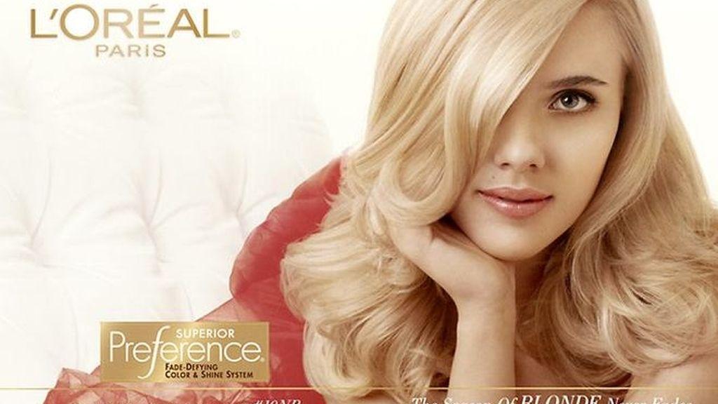 Scarlett Johanson anuncios
