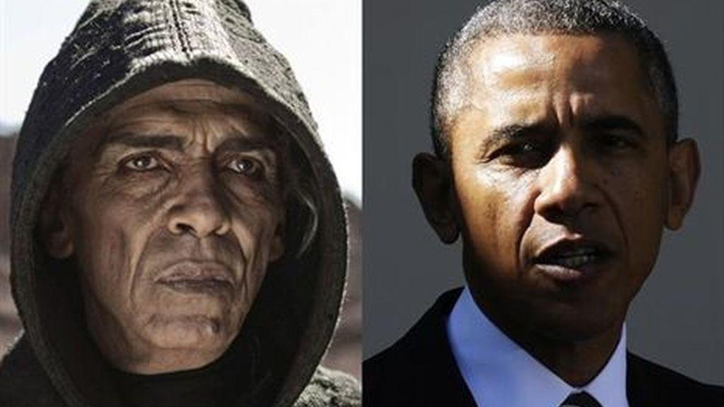 Censuran la aparición de un actor en una película por su parecido a Obama