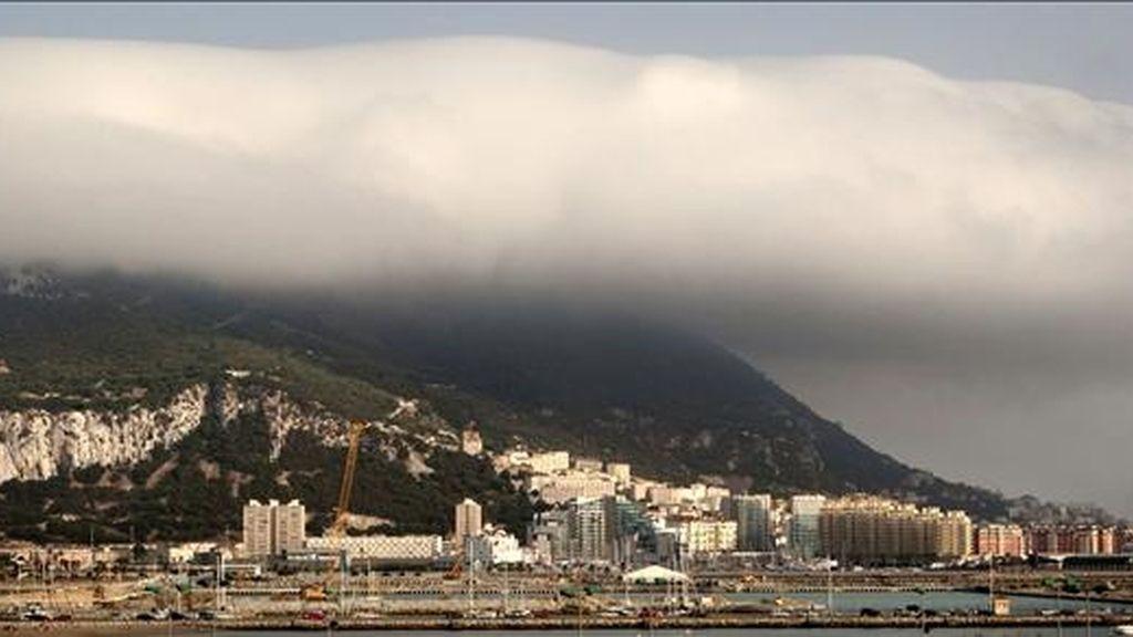Vista del peñón de Gibraltar. EFE/Archivo