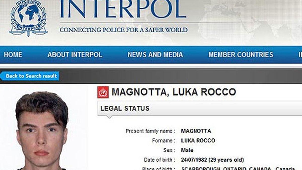 El actor porno Luka Magnotta.