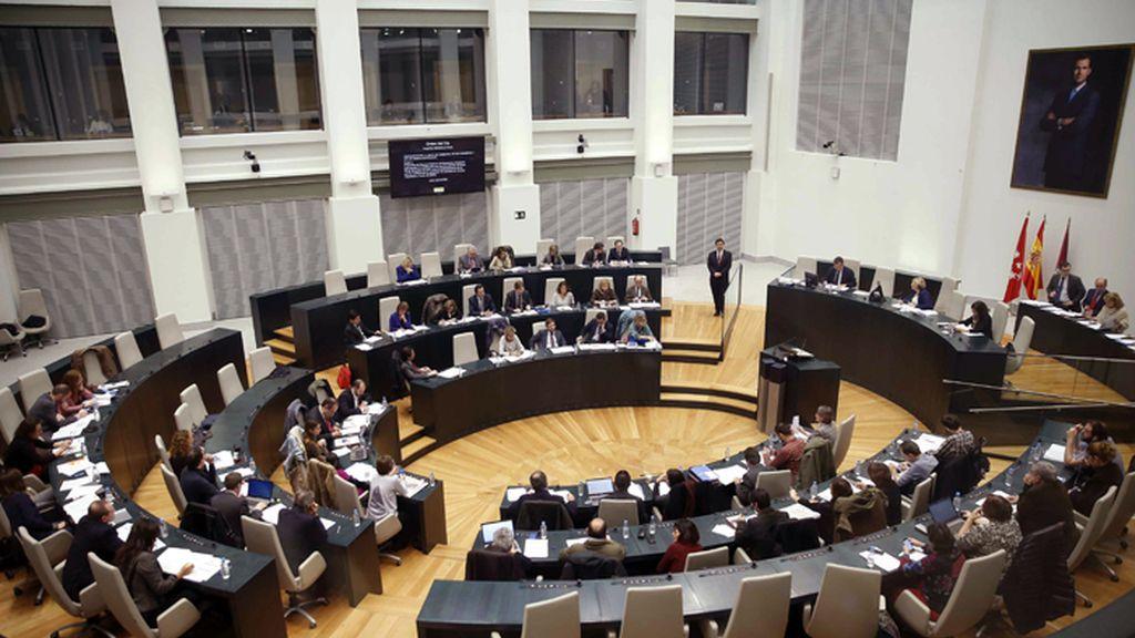 Reunión del Pleno del Ayuntamiento de Madrid