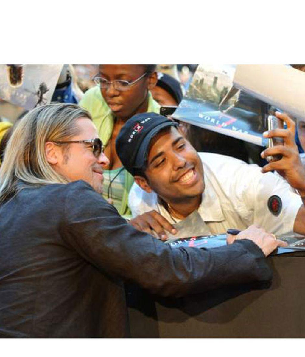 Los famosos hacen 'selfie'
