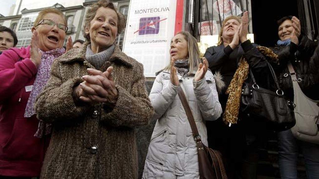 Suspendido el desahucio de una octogenaria en La Coruña