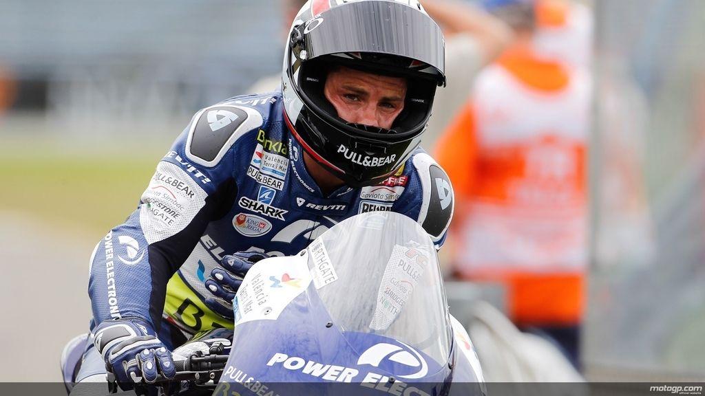 Randy De Puniet en los segundos libres del GP de Holanda