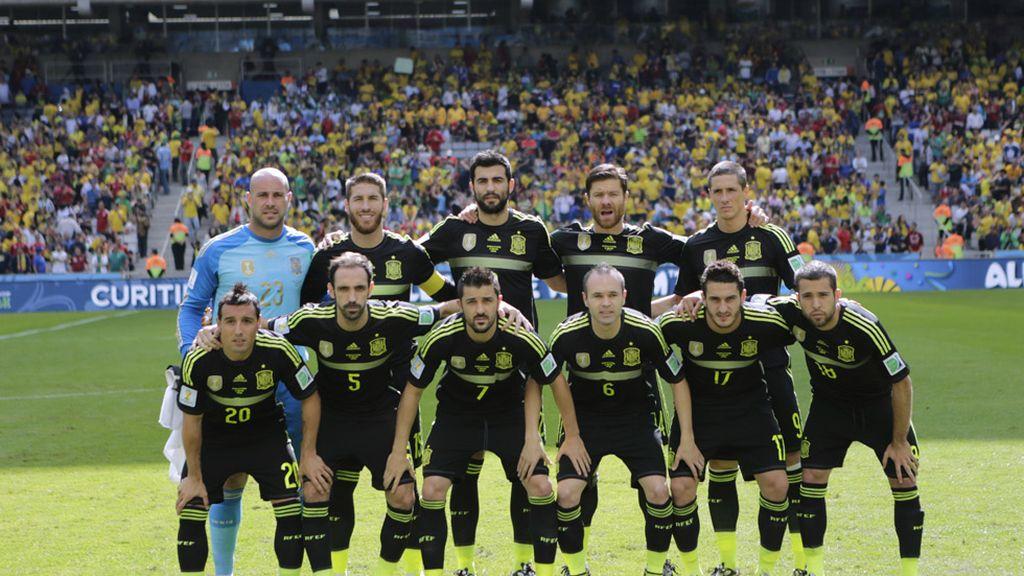 Última formación de La Roja en el Mundial de Brasil