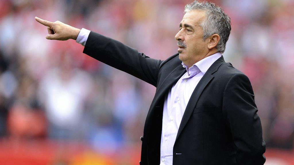 Manolo Preciado, entrenador del Sporting de Gijón