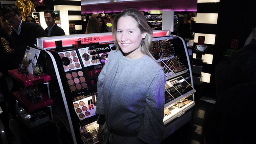 Fiona Ferrer en la fiesta de Sephora