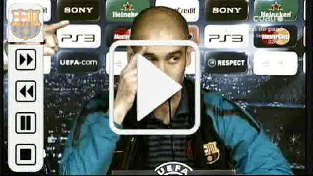 El vídeo de Guardiola para Mourinho